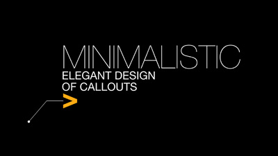50 Minimalistic Callouts Exclusively For FCPX