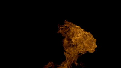150 Organic Fire Compositing Elements For Any NLE