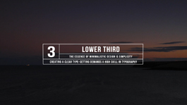 30 Simple And Elegant Lower3rds For Motion 5 & FCPX