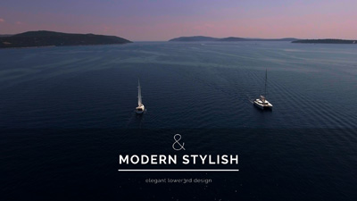 30 Minimalistic & Elegant Lower3rds For FCPX and Motion