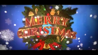 15 Christmas-themed 3D Titles For FCPX And Motion 5