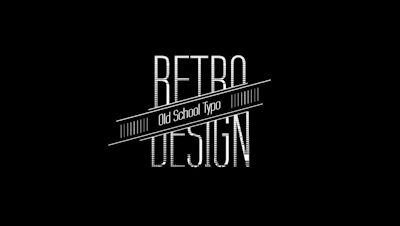 30 Retro Titles For FCPX And Motion 5
