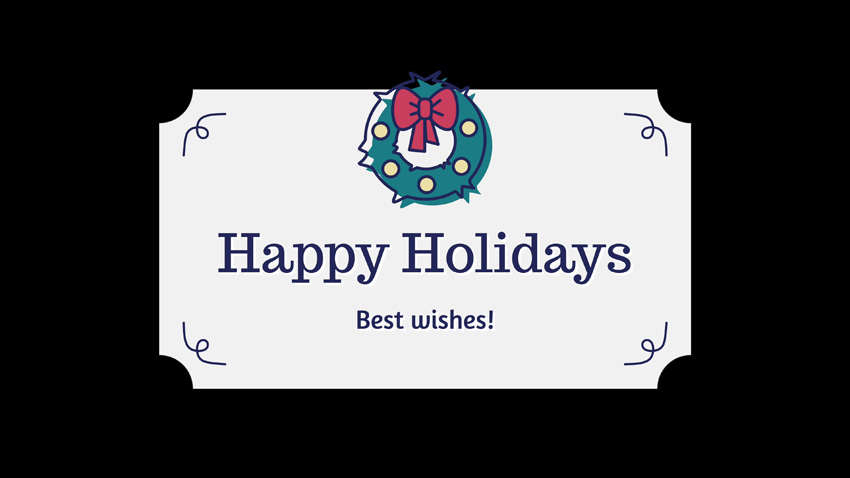 30 Holiday-themed Badges Exclusively For FCPX