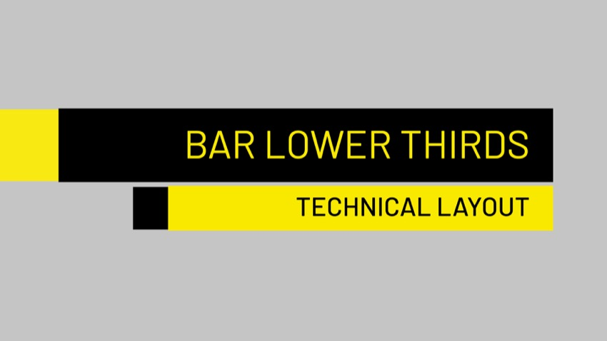 50 Bar Lower Thirds Exclusively For Final Cut Pro X