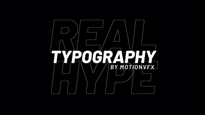 Powerful Typography Presets Exclusively For FCPX