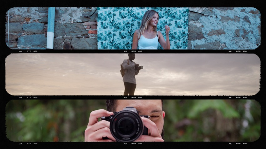 Cinematic Film Frames And Effects For Final Cut Pro