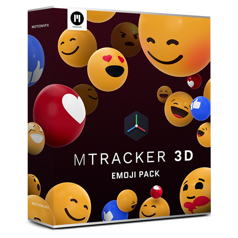 mTracker 3D Emoji Pack
