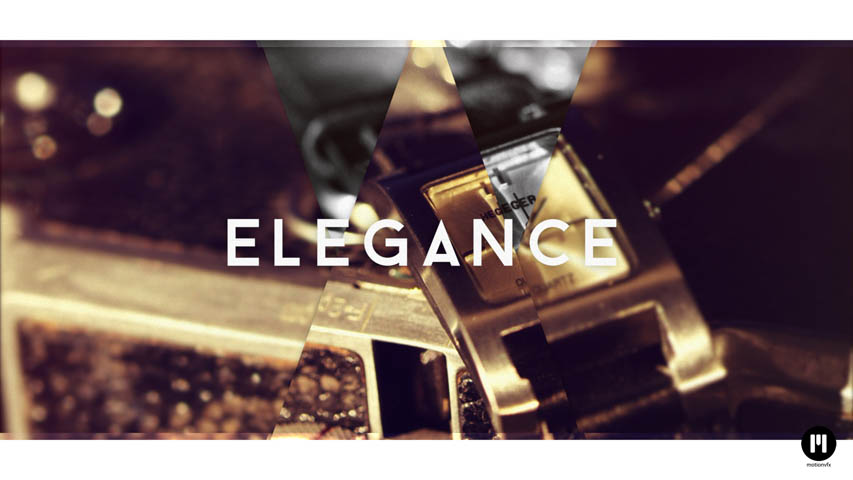 Elegant Glass Motion 5 and FCPX Template