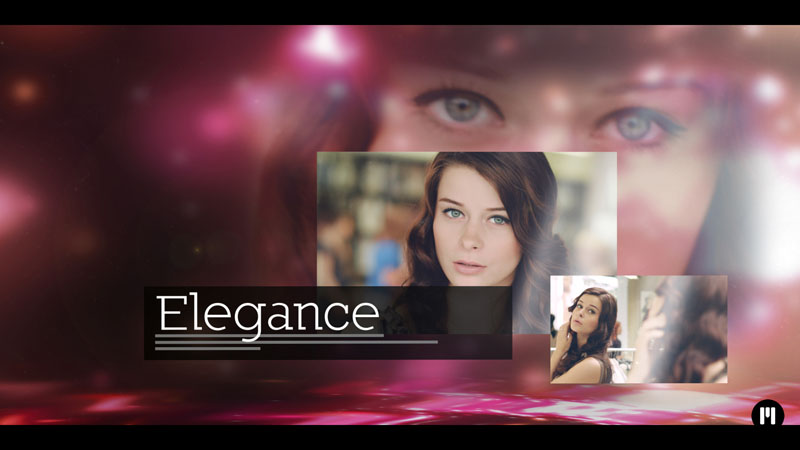 Flashy Glamour Presentation Template for Adobe After Effects