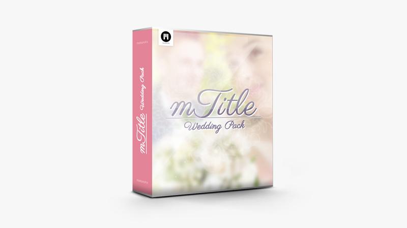 mTitle Wedding Pack