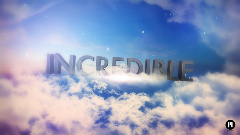 Through The Clouds Template for Adobe After Effects