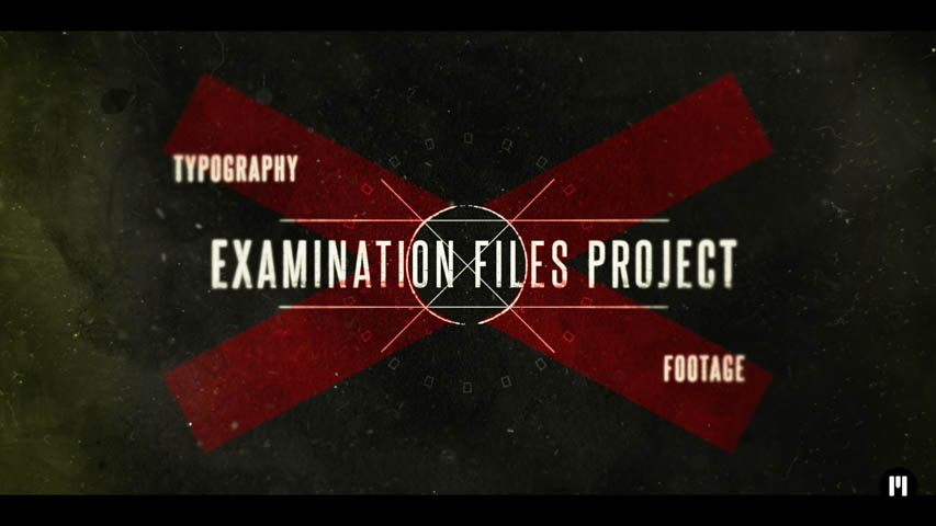 Examination Files Template for FCPX and Motion 5