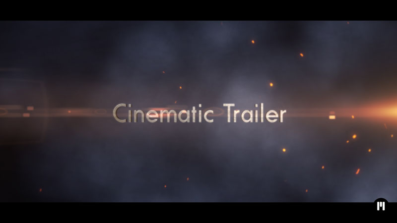 Cinematic Trailer Template for After Effects