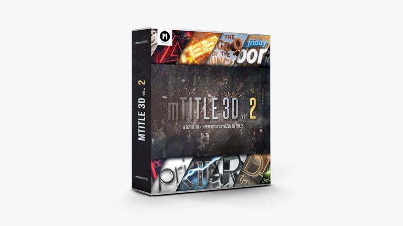 mTitle 3D vol. 2