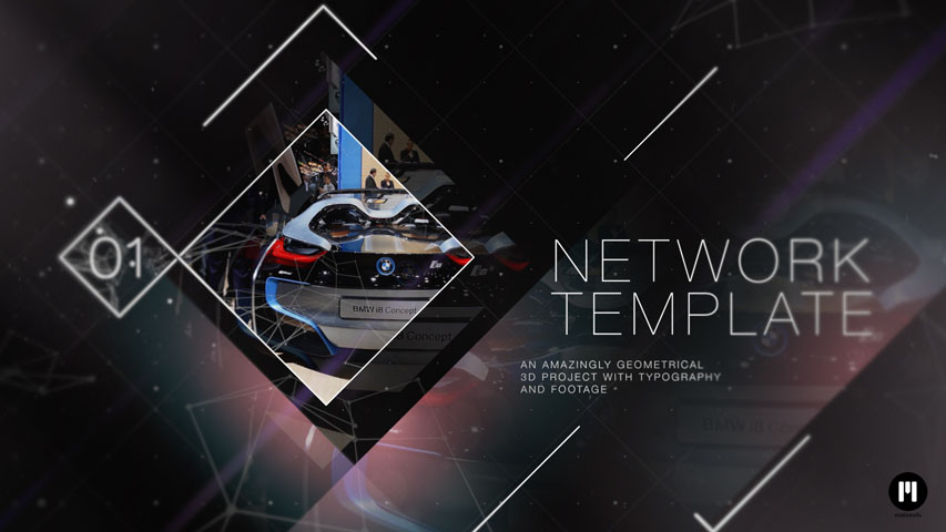 Elegant Geometry Template for FCPX and Motion 5