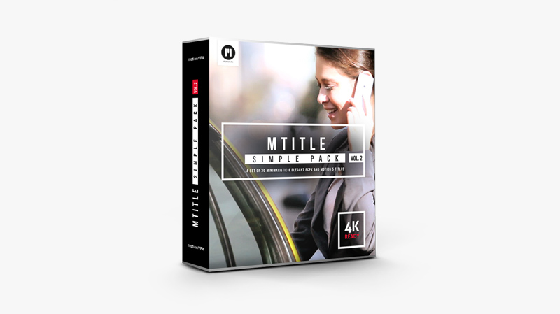 mTitle Simple Pack vol. 2