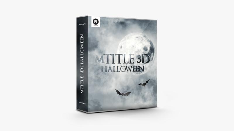 mTitle 3D Halloween