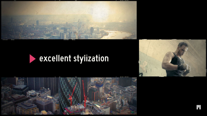 Cinematic Slideshow Template for After Effects CC