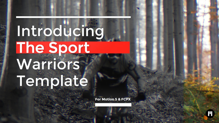Sports Motivation Template for FCPX and Motion 5