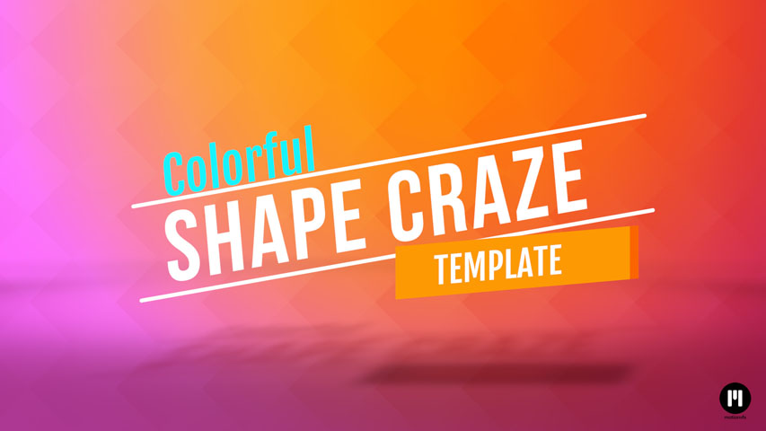Shape Craze Template for FCPX and Motion 5