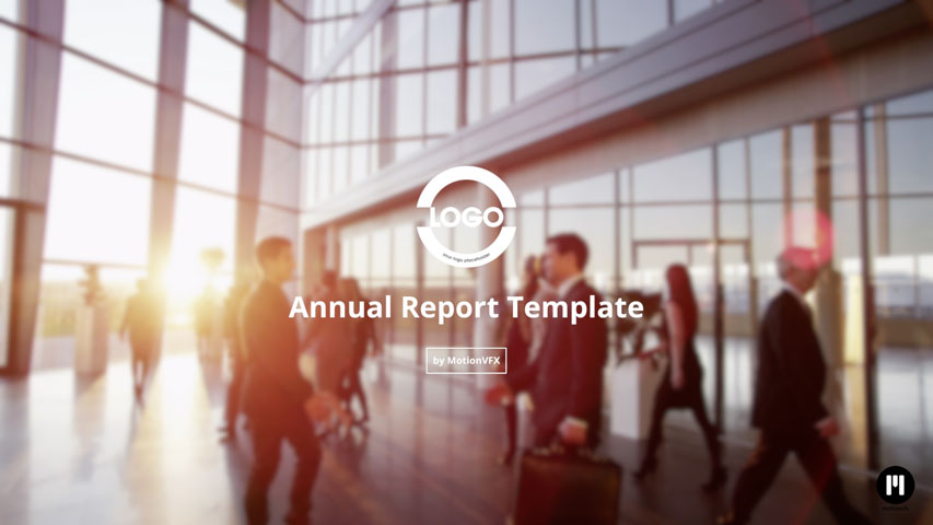Annual Report Template for FCPX and Motion 5