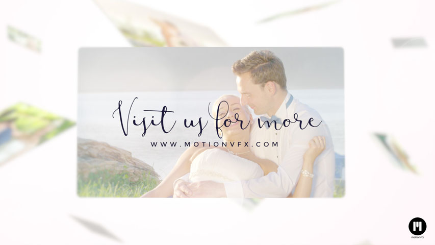 Wedding Slideshow Template for FCPX and Motion 5