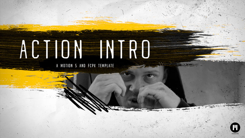 Action Intro Template for Motion 5 & FCPX