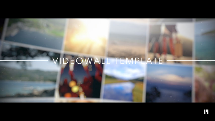 Impressive Videowall Template for Motion 5 & FCPX