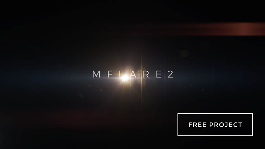 Free mFlare 2 Trailer Template for Motion 5 & FCPX