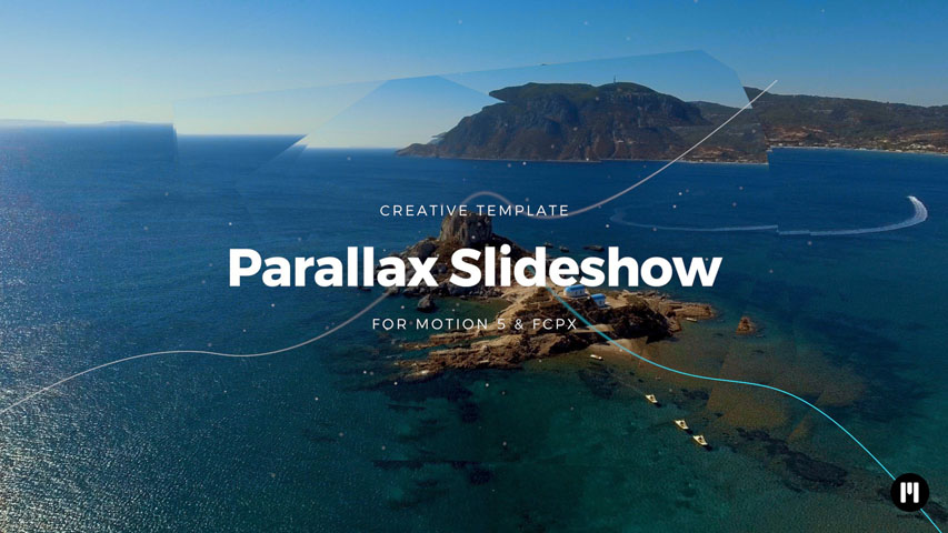 Modern Parallax Template for Motion 5 & FCPX