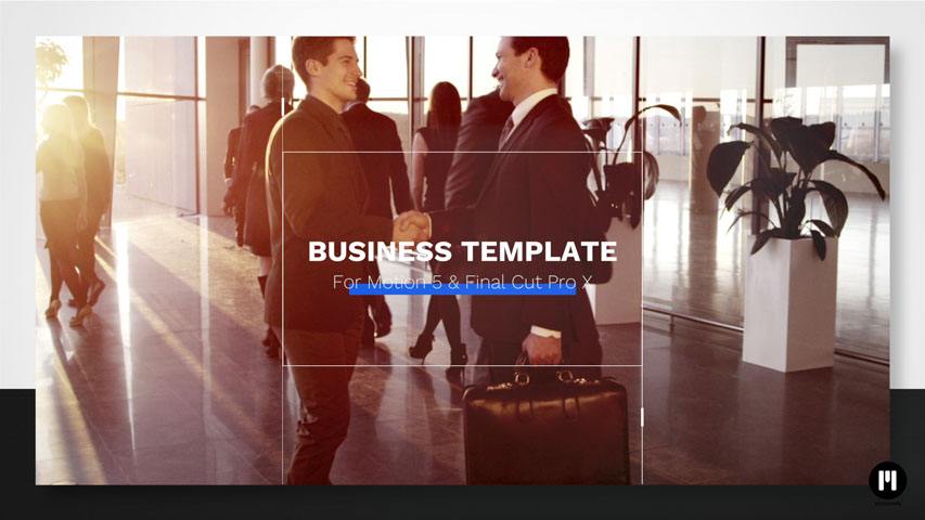 Business Template for Motion 5 & FCPX