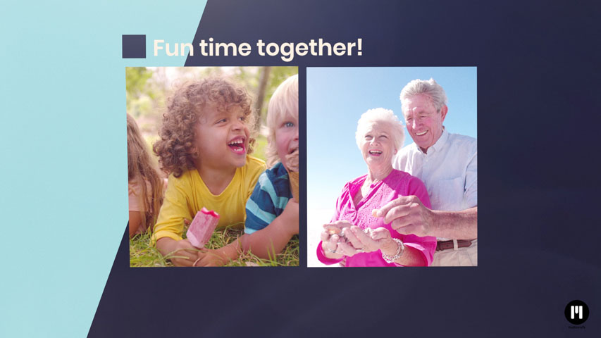 Family Slideshow Template for Motion 5 & FCPX
