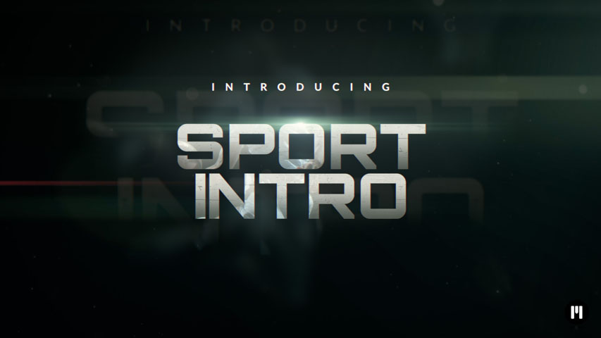 Sport Intro Template for Motion 5 & FCPX