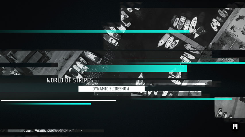 Dynamic Stripes Template for Motion 5 & FCPX