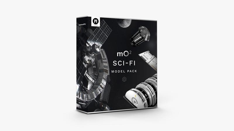 mO2 Sci-fi Model Pack