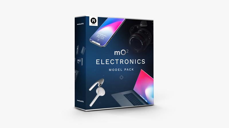 mO2 Electronics Model Pack