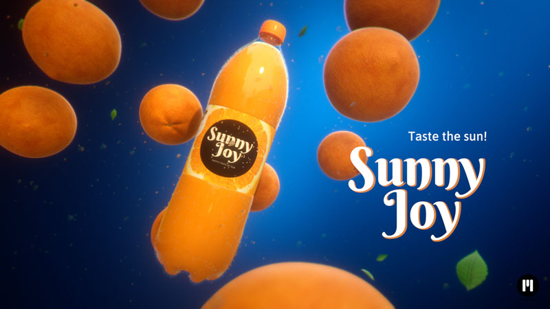 Juice Commercial Template for mO2