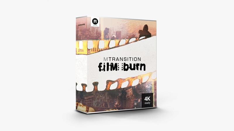 mTransition Film Burn