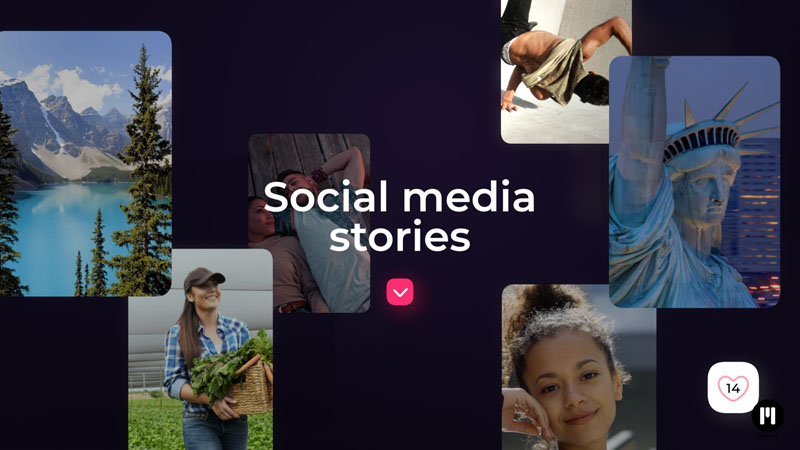 Social Media Stories Template for Motion 5 & FCPX
