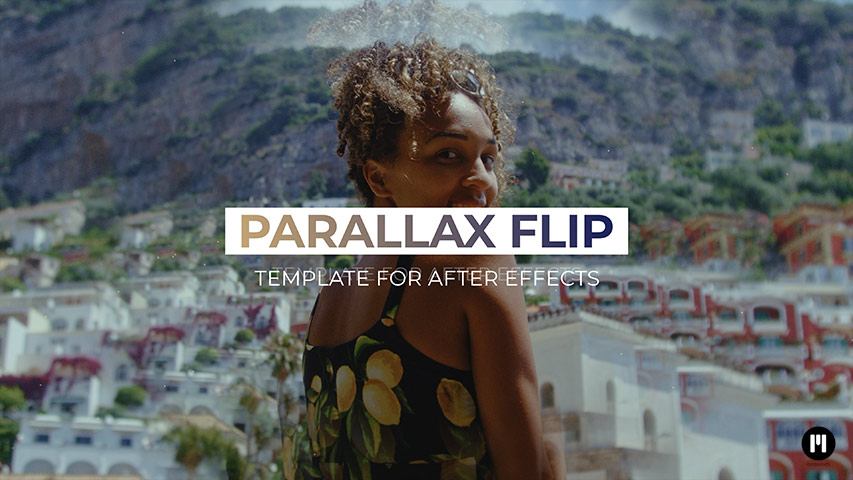 Parallax Flip Template for After Effects CC