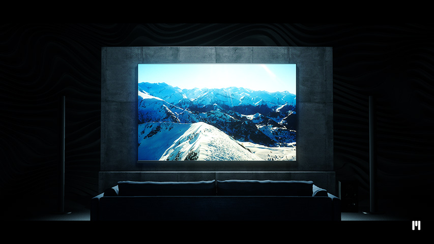Home Cinema Template for mO2