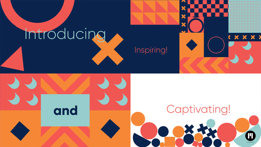 Fun Typography Modular Template for Apple Motion & FCPX
