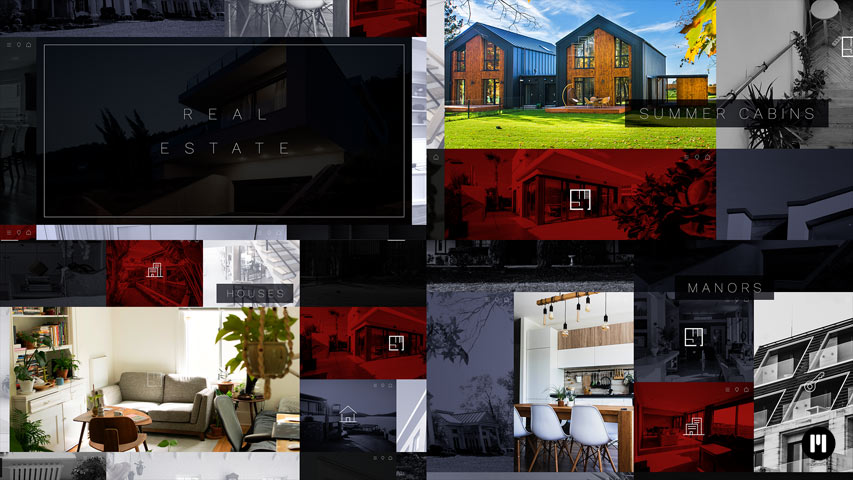 Real Estate Modular Template for Apple Motion & FCPX