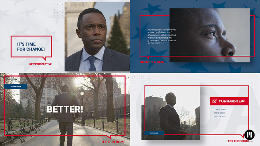 Elections Modular Template for Apple Motion & FCPX