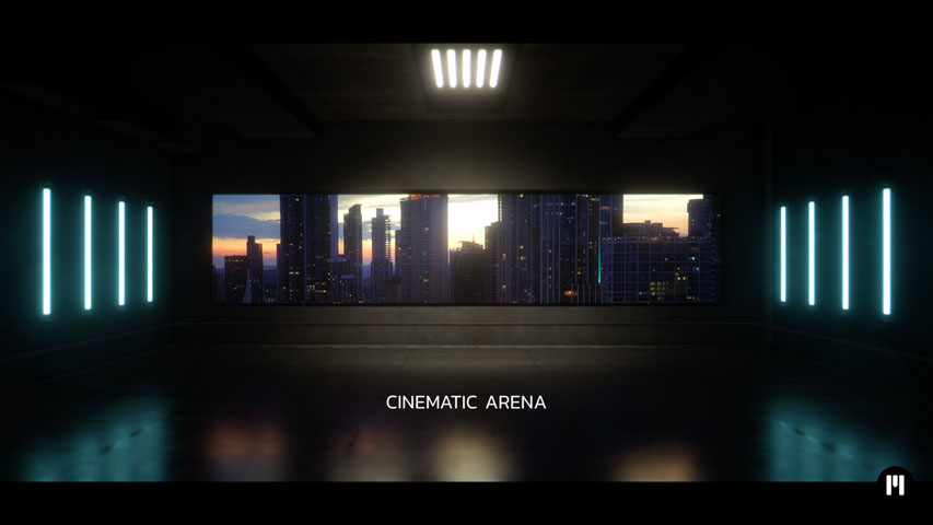 Cinematic Arena Template for mO2