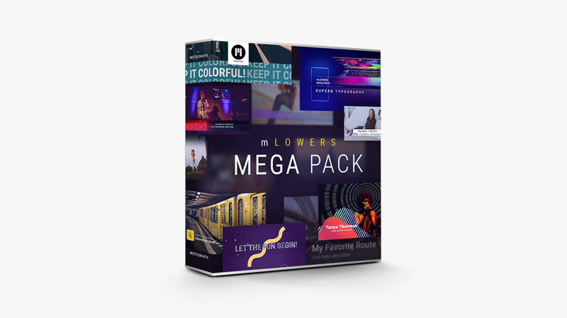 mLowers Mega Pack