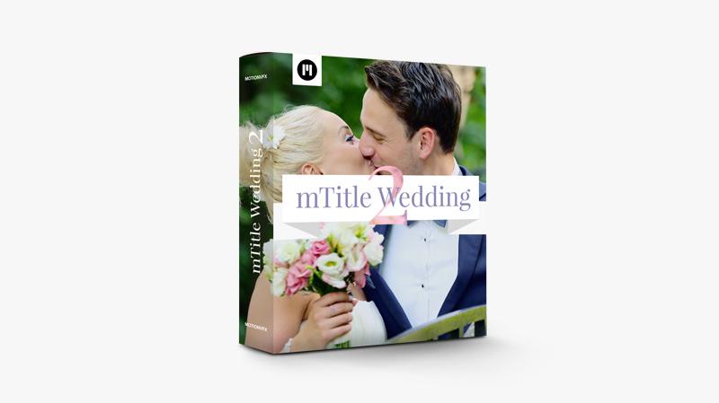 mTitle Wedding Pack 2