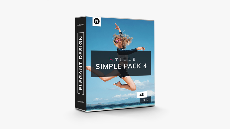 mTitle Simple Pack vol. 4