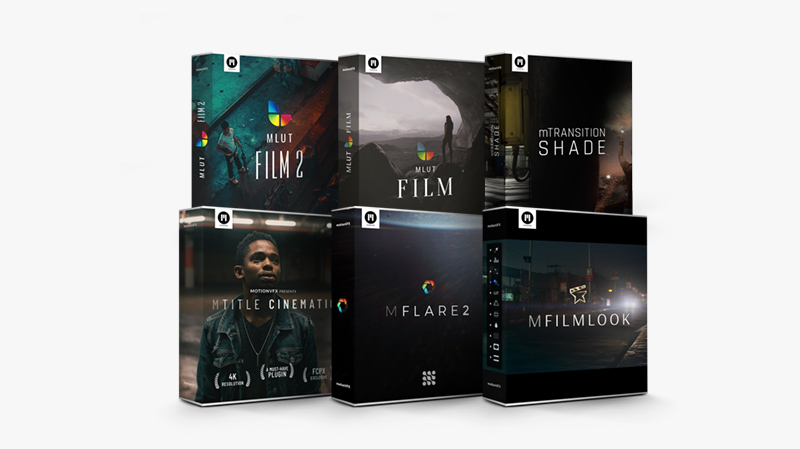 Professional Cinematic Production Studio Toolset For FCPX