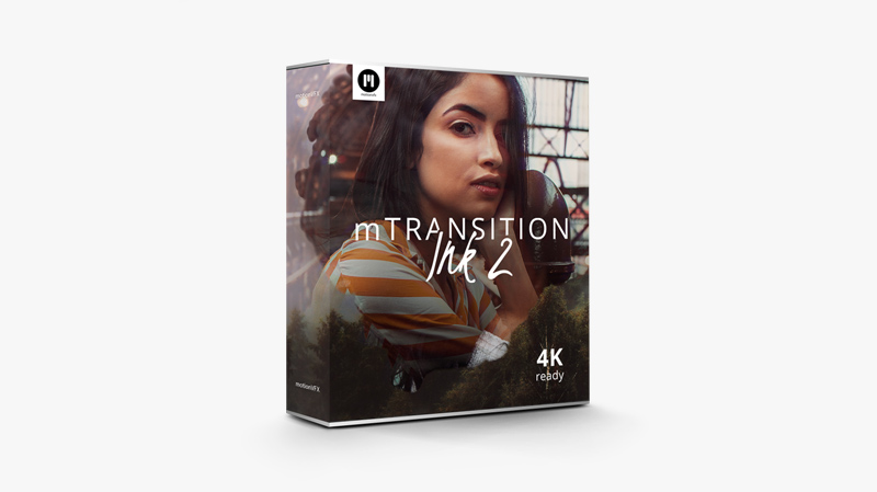 30 Organic Ink Transitions Exclusively for FCPX